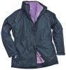 Dámska bunda ELGIN 3 v 1 dámska tmavomodro/fialová veľkosť XL