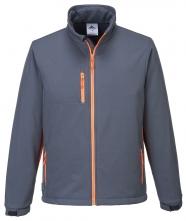 216ac6b3657f Softshellová bunda TEXO TRIPLE DRY Membrána sivo oranžová