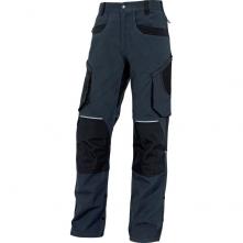 Montérkové nohavice MACH ORIGINALS do pása modr/čierne veľkosť L