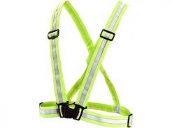 Kríž výstražný Wota elastický reflexný HV žltý