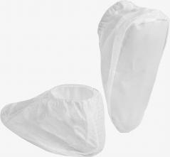 Návlek na obuv MicroMax NS nízky jednorazový s PVC podrážkou biely