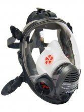 ccad185ebca Celotvárová maska SCOTT VISION 4000 filter na boku silikónová žltá lícnica