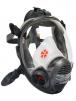 Celotvárová maska SCOTT VISION 4000 filter na boku silikónová čierna lícnica