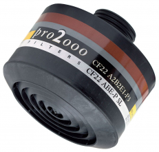 Filter SCOTT PRO2000 CF 22 A2B2E1P3 R D so závitom 40 mm x 1,7""