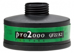 Filter SCOTT PRO2000 GF 22 K2 so závitom 40 mm x 1,7""