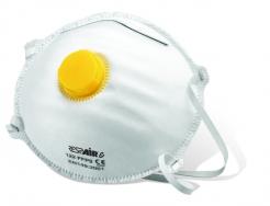 Tvarovaný ekonomický respirátor RESPAIR E FFP2V s výdychovým ventilom