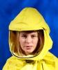 Kukla dýchacia SCOTT TORNADO 25 integrovaná prilba žltá
