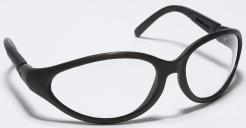 Okuliare CRUISER čierny nylonový rám číre