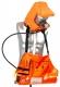 Únikový dýchací prístroj ELSA 15-B tlaková fľaša 15 min taška oranžová