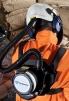 Chrbtový postroj na nosenie filtračno-ventilačnej jednotky SCOTT TORNADO