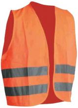 Vesta výstražná CERVA LYNX 2 reflexné pruhy oranžová
