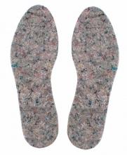 Vložky do obuvi filcové sivé veľkosť 42