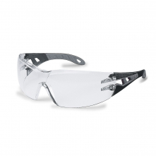 Okuliare UVEX X-TREND čierne stráničky nepoškrabateľné nezahmlievajúce číre