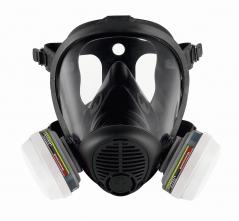 9a845af783c Celotvárová maska SCOTT PROMASK 2 TWIN silikónová lícnica filtre PRO2 čierna
