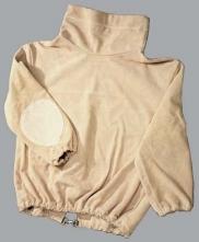 Ochranný kabátik EKO pre pieskovačov kožený štiepená hovädzina veľkosť XL