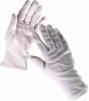 Rukavice CERVA KITE bavlna volná manžeta biele