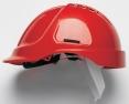 Ochranná prilba PROTECTOR STYLE 600 ABS ventilovaná červená