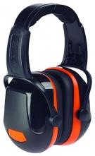 Mušľové chrániče PROTECTOR ZONE 2 Industrial temeno SNR 31 čierno/oranžové