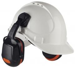 Mušľové chrániče sluchu PROTECTOR ZONE 2 na prilbu SNR 29 oranžové