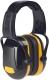 Mušľové chrániče sluchu Protector ZONE 1 na prilbu SNR 27 žlté