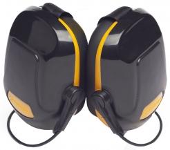 Mušľové chrániče PROTECTOR ZONE 1 na zátylok SNR28 čierno/žlté