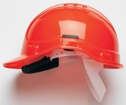 Prilba PROTECTOR STYLE 300 plastový hlavový kríž ventilovaná svietivo oranžová