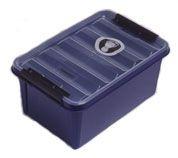 03dfa579926 Box Sundström skladovací na masky alebo polomasky modrý