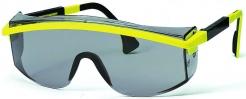 Okuliare UVEX ASTROSPEC žlto/čierny rámček priezor odolný proti poškriabaniu proti slnku sivý