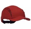 Čiapka so škrupinou PROTECTOR FB3 štandardný šilt červená