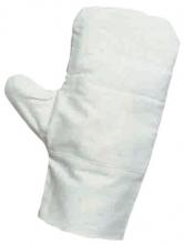 Rukavice CERVA OUZEL palcové ražné strojená dlaň