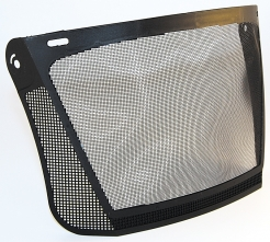 Priezor nylon 350 x 200 mm vrátane držiaka ku kombinácii so slúchadlami