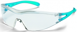 Okuliare UVEX X-ONE modré stranice nepoškriabateľné UV filter číre