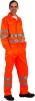 Montérková blúza KOROS výstražné pruhy oranžová veľkosť 54