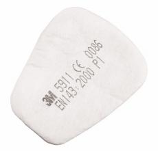 Filtračná vložka 3M 5911 P1R pre polomasky a masky 3M 6000