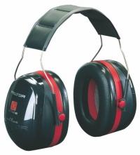 Mušľové chrániče PELTOR OPTIME III H540A-411-SV čierno-červené