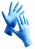Rukavice CERVA BARBARY jednorazové 100 ks nitrilové pudrované modré