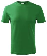 Tričko Classic 160 detské okrúhly výstrih trávovo zelené 559c0dd6b69