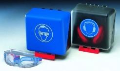 SECUBox stredná bezpečnostná schránka na slúchadlá modrá