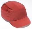 Čiapka so škrupinou FBC+HC22 skrátený štítok červená