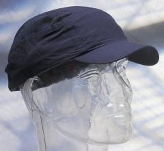 Náhradný poťah na čiapku so škrupinou FBC+ štandardná dĺžka šiltu tmavomodrá