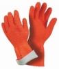 Rukavice MAPA HARPON 321 latex/bavlnený úplet silne zdrsnené oranžové veľkosť 9