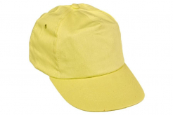 Čiapka CERVA LEO baseballová s reflexnými doplnkami plastový nastavovací pásik žltá