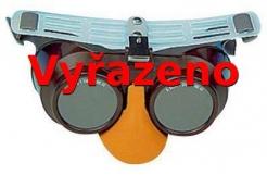 Okuliare B-B 39 gumička infrazor modré