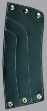 Chránič predlaktia koža/filc druky 15 cm