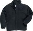 Mikina YUKON fleece prešívaná zateplená čierna veľkosť L