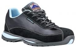 Obuv Steelite™ Safety Trainer S1 HRO dámska poltopánka čierna/svetlomodrá veľkosť 38