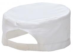 Čiapka CHEFS Skull kuchárska PES/BA sťahovanie biela