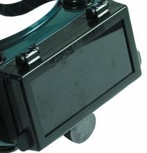 Sklo zváracie do okuliarov 1140 SE zatmavené zelené stupeň 6
