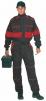 Kombinéza LUX ROBERT čierno/červená