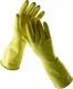 Rukavice CERVA STARLING latexové tenké bez podšívky žlté